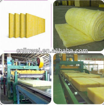 Fiberglass cotton thermal insulation roofing material for for Fiberglass thermal insulation