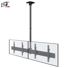 32 - 65 Inch Dual Monitor Mounting A TV Ceiling Mount TV Bracket With Shelf Hanging TV Mounts