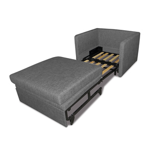 Wholesale Good Quality Wooden Slat And Metal Frame Pull Out Single Sofa Bed