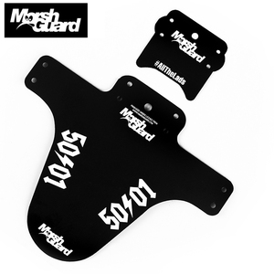 MARSH GUARD Bicycle Fenders 50/01 Mud Guard MTB Bike Dirt Front Fender XC TR AM ENDURO DH FR Bicycle Mudguard Bike Fender