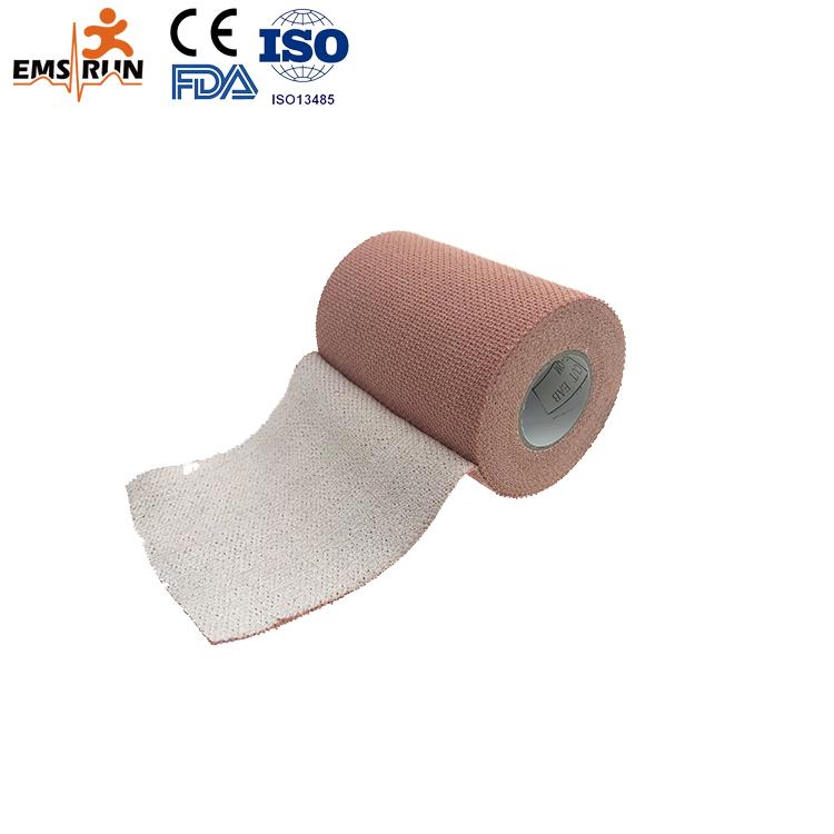 Pleister sport pols medische pijnbestrijding samenhangend Knie Katoen gecomprimeerd gaas ehbo PBT skin elastische crêpe bandage