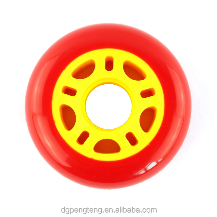 80mm hot sale alta repercussão inline skate roda PU rolo
