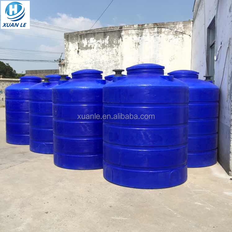 Rotational cylindrical pe water tank malaysia price for storage