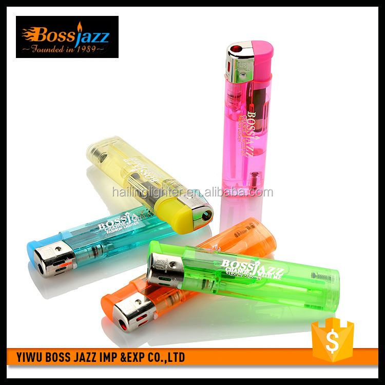 Latest product comfortable design plastic recyclable rechargeable lighter