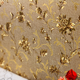Golden rose wallpaper gold foil wallpaper for setting wall