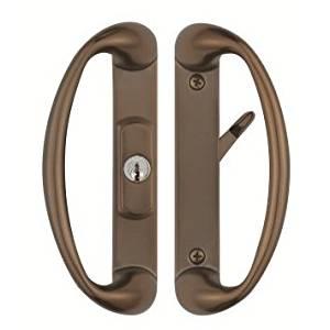 Get Quotations · Cambridge Sliding Glass Door Handle With Center Keylock    Durable Hardware Door Locks, Door Handles