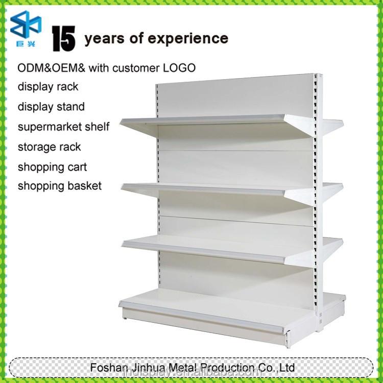 Doble Cara De Metal Supermercado Estante Precio De Supermercado ...