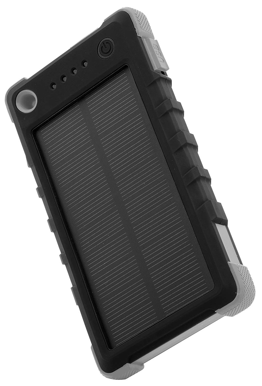 MyMe Solar Back-up Battery-Built in Lantern- Superior Build up- Solar Panel- Shock Resistant- Waterproof- Handy to Carry- Biking- Camping- Hiking