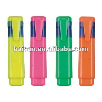 4mm tip colored big highlighter jumbo highlighter