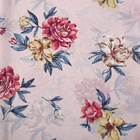 Custom floral 75D 1800T print chiffon polyester fabric for women dress