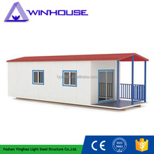 Strong Stability Prefab House Modular Light Steel Villa