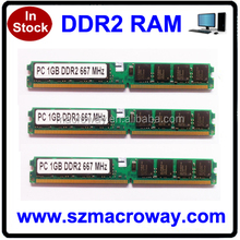 Hot memory wholesale ddr2 1gb ram