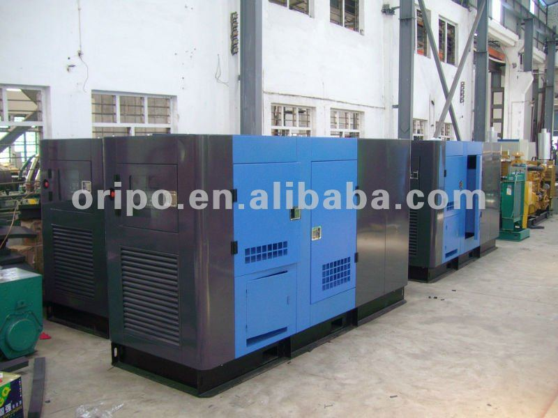 100kva/80kw joint venture commins generator set with global one year warranty