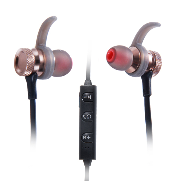 magnetic bluetooth earbuds stereo wireless earphone