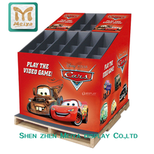 Custom Pop Cardboard Stands Paper Pallet Displays for Toy Cars Advertising Product Display