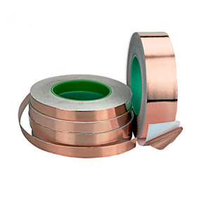 Copper Foil Electrically Conductive Tape 10mm*20m Double Sided/ copper foil adhesive tape used for fender guitar