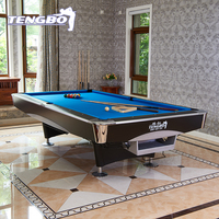 Factory direct sale top slate billiard pool table