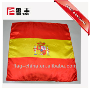 hot sell new design wholesale logo printed national flag bandana 55x55cm custom series countries flag bandana square bandana