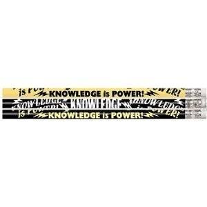 D1387 Knowledge Is Power - 144 School Pencils