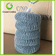 6PCS Yiwu Galvanized Steel Wire Mesh Scourer