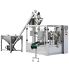Fully and high speed automatic milk/coffee powder pouch filling and packing machine