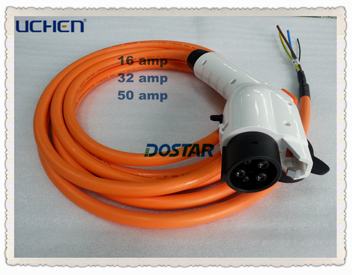 Uchen factory supply dostar American type 1 charger connector