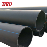 12 inch hdpe pipe pn16 prices 18 inch HDPE PE pipe for irrigation