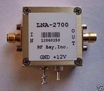 2.2-3.2GHz Low Noise Amplifier, LNA-2700, New, SMA