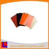 Top quality low price hot sale customized various high temperature silicone rubber sheet