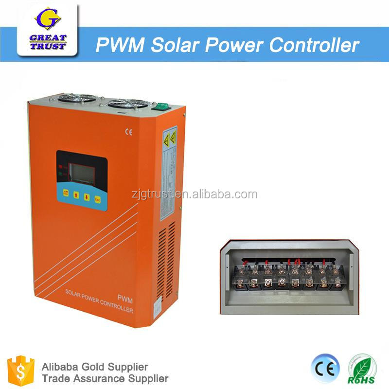 intelligent pwm solar charge controller lifepo4 solar charge controller solar water heater controller m-7