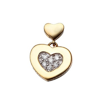 18k Gold Filled Love forever pendant