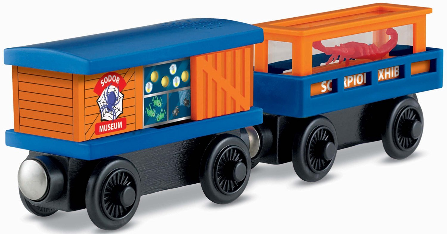 Fisher-Price Thomas the Train Wooden Railway Crawly Critters Cargo Car