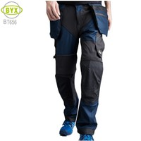 Outdoor Breathable Comfortable Workwear Pants Mens Cargo Trousers