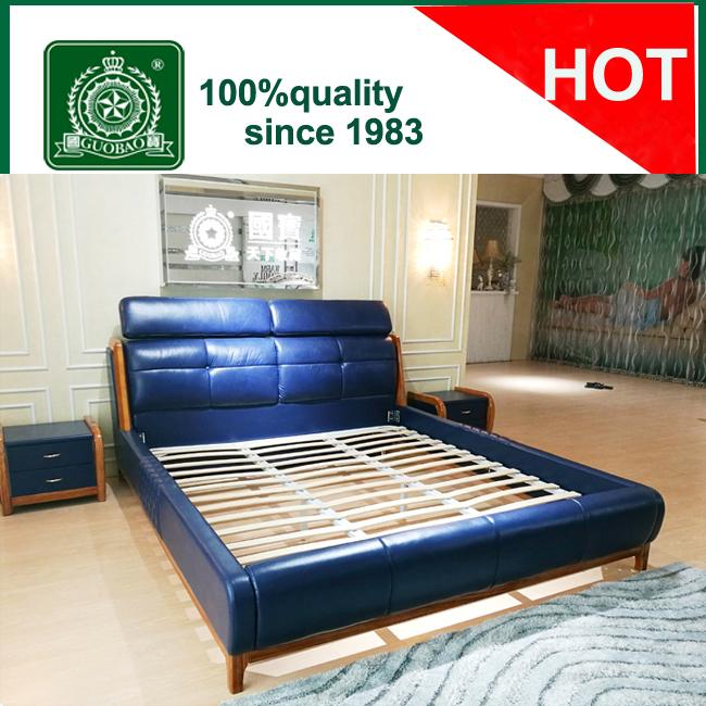 Venta al por mayor diseños modernos de la cama de madera-Compre ...