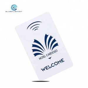 Custom Printable Plastic RFID Hotel Key Card with Chip