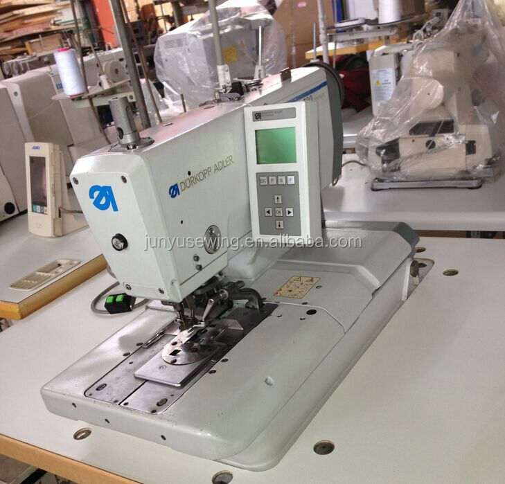Used Durkopp Adler 40 Automatic Eyelet Buttonhole Sewing Machine Adorable Automatic Buttonhole Sewing Machine