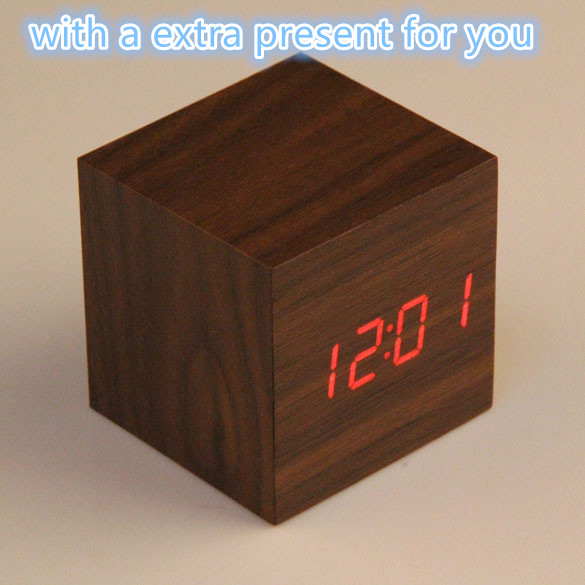 popular wooden alarm clock radio buy cheap wooden alarm. Black Bedroom Furniture Sets. Home Design Ideas
