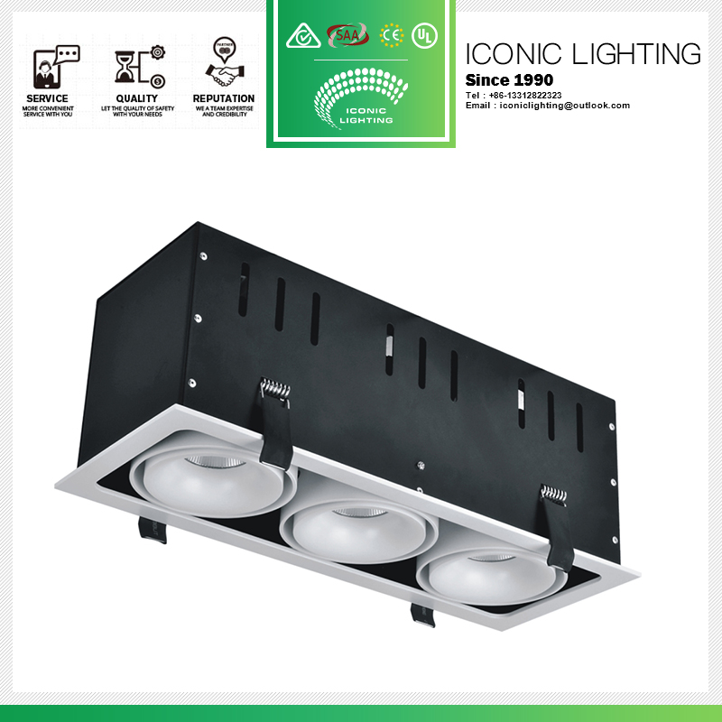 Good quality trimless led surface mounted housing downlight