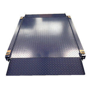 5 ton digital industrial scale metal ramp floor