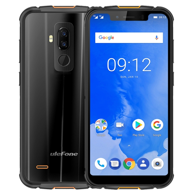 Latest Ulefone Armor 5 Triple Proofing Smartphone ram 4GB rom 64GB 5.85 inch Android 8.1 MTK6763 Octa Core mobile phone