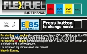 E85 BIOFUEL 4 CYL CONVERSION KIT FLEXFUEL ALCOHOL