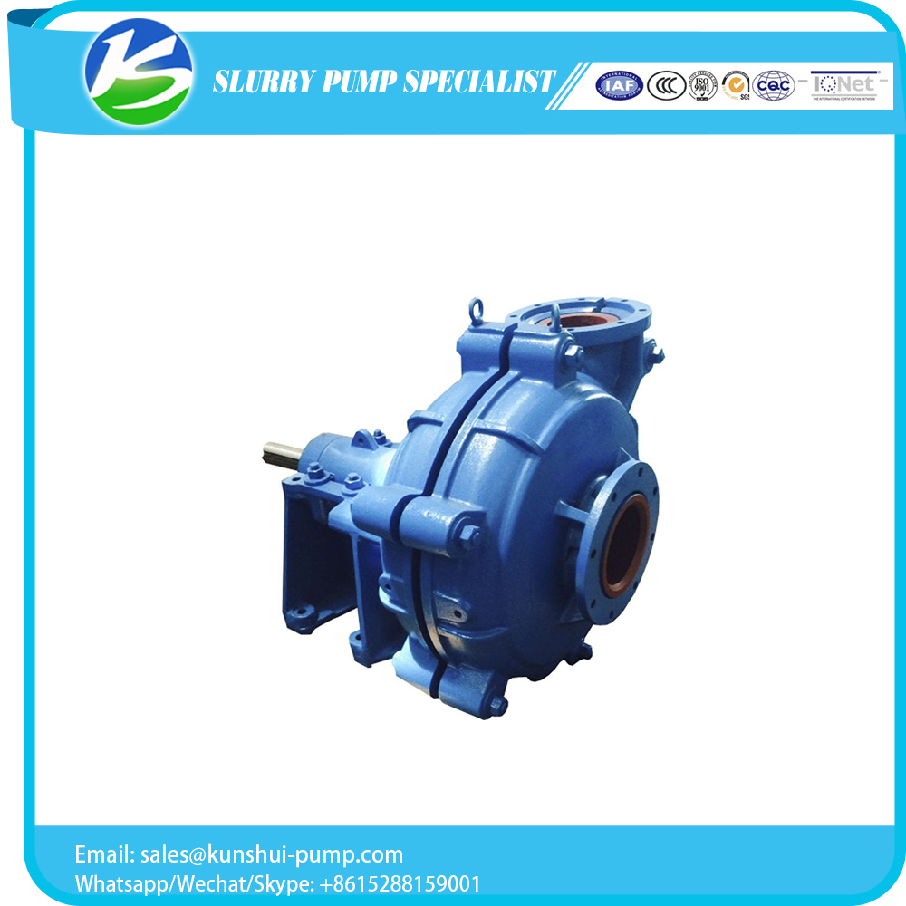 Custom logo metal or rubber liner slurry pumps for factory use
