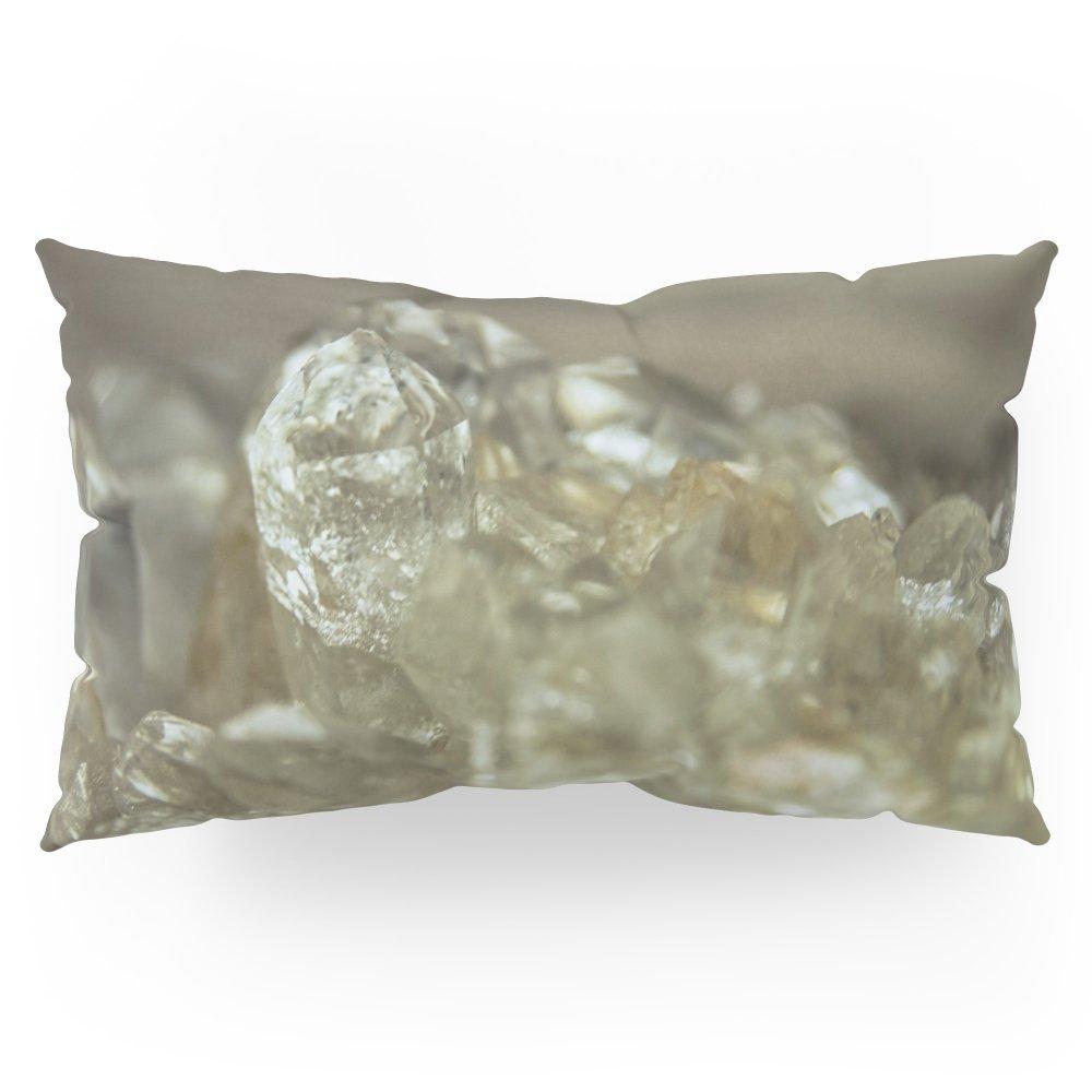 "Society6 The Crystal Farm Pillow Sham King (20"" x 36"") Set of 2"