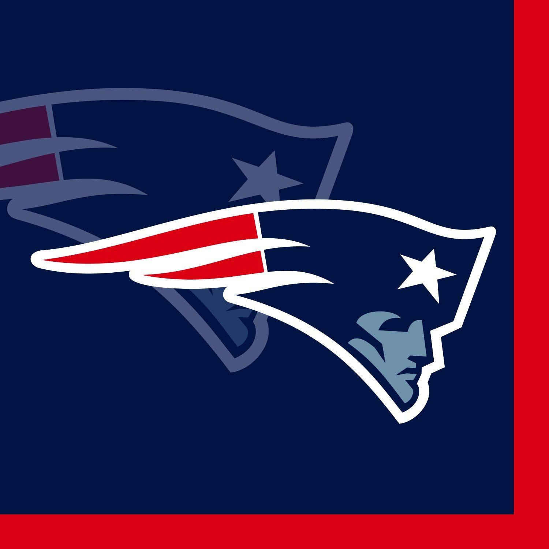 Creative Converting 16 Count New England Patriots Beverage Napkins