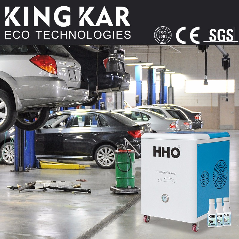HHO auto carbon cleaner to protect engine
