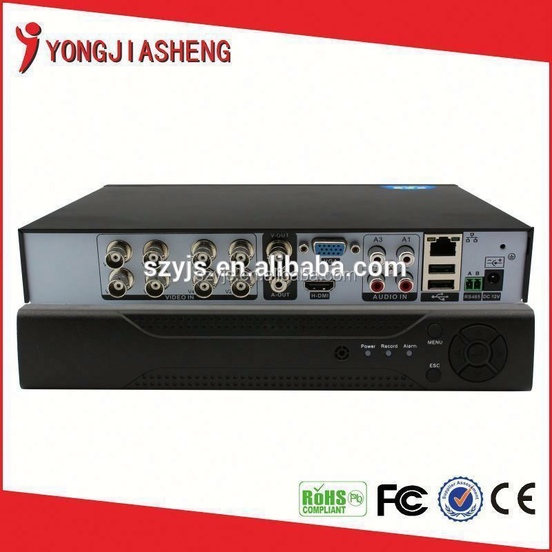 8 channels H.264 CCTV Home Security video record DVR YJS-108DVR