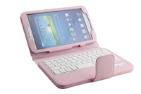 8 Inch Tablet Pc Pu Leather Case With Detachable wired Keyboard for Samsung TAB3 For T310/T311-SA08B