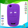 OEM custom design protective silicone car key cover for Opel hyundai remote key case