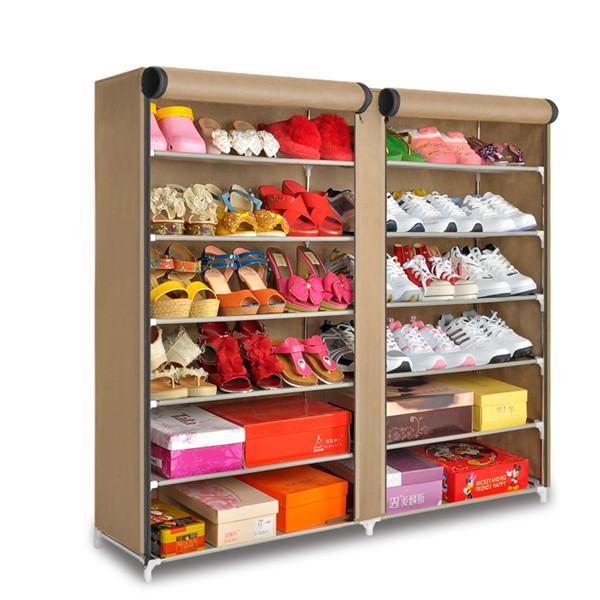 Tiers 6 2 porta sapatos de armazenamento organizador de - Organizador de armarios ...