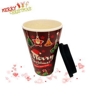 Short Delivery Time Christmas Decoration Mug Classical Gift Coffee Mug for Lover